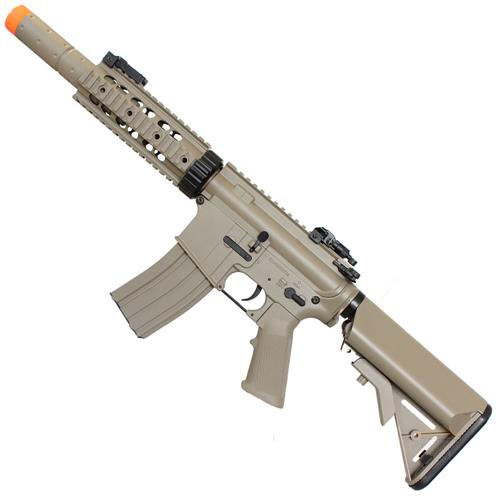 Rifle Airsoft M4A1 RIS CQB TAN Eletrico 6mm Cyma