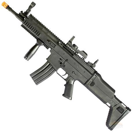 Rifle de Airsoft SCAR-L Black Spring 6mm