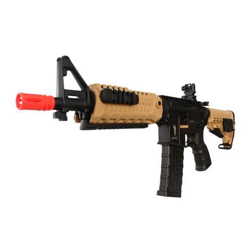 Rifle de Airsoft M4A1 CAA Custom Dual Color Eletrico Calibre 6mm - King Arms