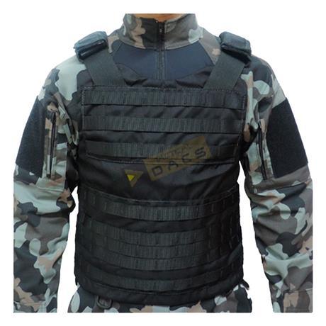Colete Tatico Cop Modular (Preto) Tam: (G,GG) - Dacs