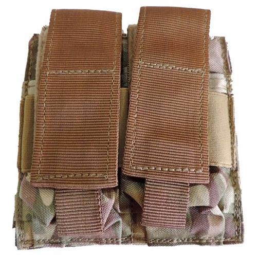 Bolso 2 Compartimentos para Coletes (Uso de Magazines) - Camuflado