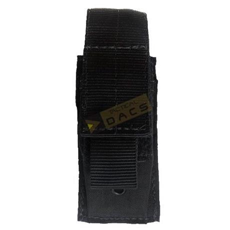 Bolso Tatico Modular 1X Pistol Porta-Magazine (Preto) - Dacs