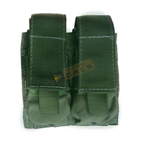 Bolso Tatico Modular 4X556 Porta-Magazine (Verde) - Dacs