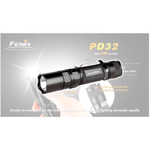 Lanterna Profissional Pd32 315 Lumens - Fenix