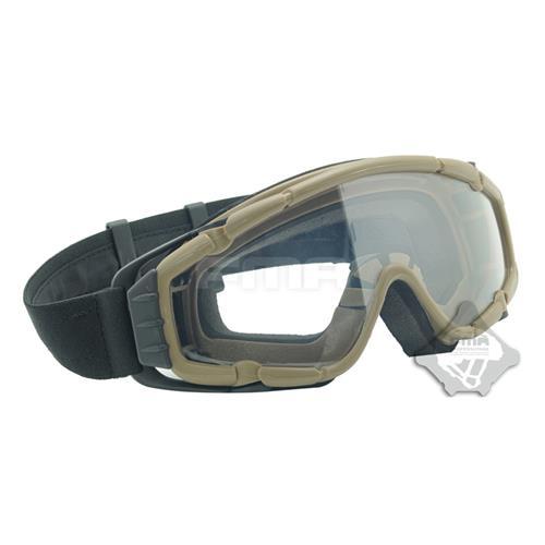 Oculos de Protecao com Ventilacao - Fma Ballistic Google D Version - Areia
