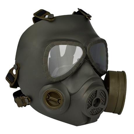 Mascara Airsoft Anti Gás (Réplica) com Ventilação (FMA) - Verde Escuro