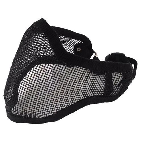 Mascara Telada Meia Face + Proteção de Orelha - Preta
