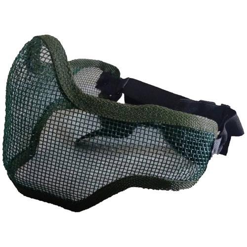 Mascara Telada Meia Face + Proteção de Orelha - Verde
