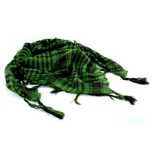 Shemagh - Verde e Preto