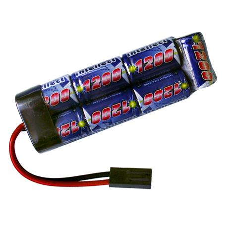 Bateria para Airsoft NIMH 8,4V - 1200MAH