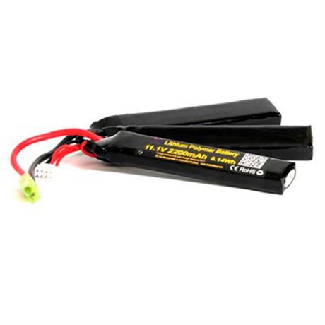 Bateria para Airsoft LIPO 11,1V - 2200MAH