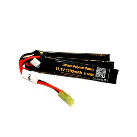 Bateria para Airsoft LIPO 11,1V - 1100MAH