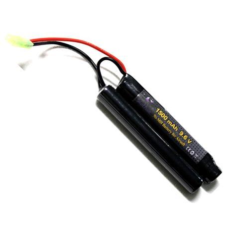 Bateria para Airsoft NIMH 9,6V - 1500MAH