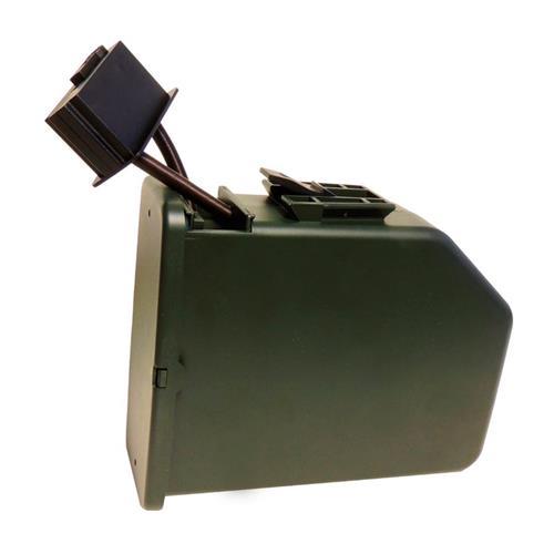 Magazine DRUM Elétrico de Alta Capacidade para Metralhadoras MK46 e M249