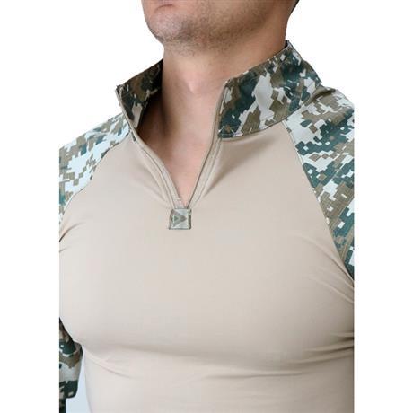 Combat Shirt Hrt - Digital Cerrado (Exg) - Dacs