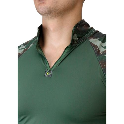 Combat Shirt Hrt - Camuflado Eb (M)-Dacs