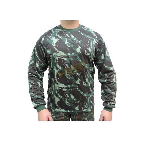 Camiseta Camuflada Manga Longa Eb (M) - Dacs