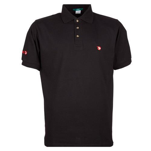 Camisa Polo Gamo (Preta) (XXL) - Gamo