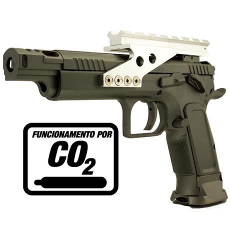 Pistola CO2 Tanfoglio Gold Custom Eric 4.5mm Blow Back FULL METAL