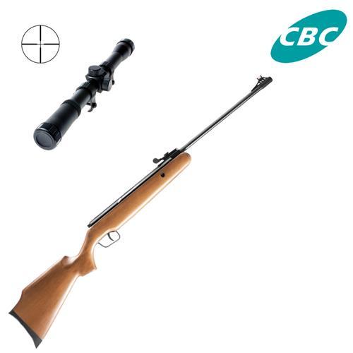 Carabina de Pressao CBC F18 Montenegro B12-6 - Cal 4,5mm + Luneta 4x20 Snauzer
