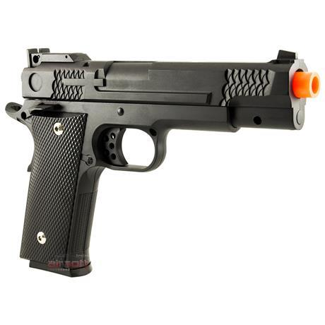 Pistola 1911 Black de Airsoft (FULL METAL) Cal 6mm