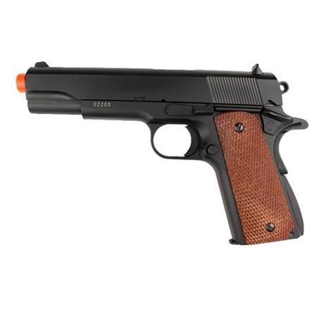 Pistola de Airsoft 1911A-1 Black 6mm FULL METAL