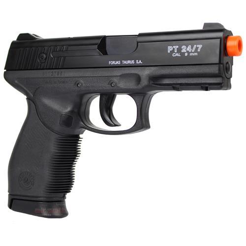 Pistola de Airsoft Taurus 24/7 (02 Magazines) Semi Metal 6mm Cybergun