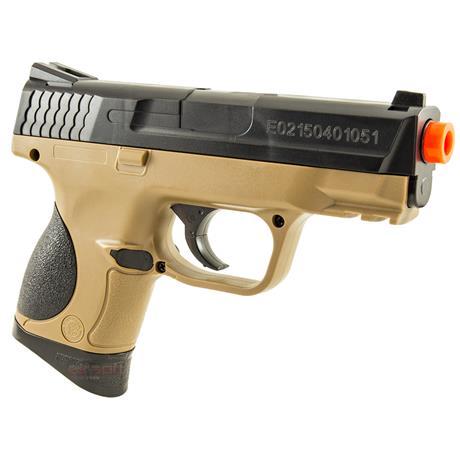 Pistola Airsoft MP9C S&W - Magazine de Alta Capacidade 90 BBS