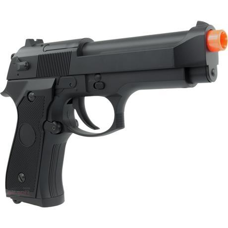 Pistola Airsoft Eletrica Beretta M92F (FULL METAL 750Gramas) + Speedloader - Cyma