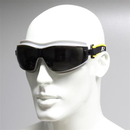 Oculos de Protecao Ampla Visao (Lente Cinza) - Actionx
