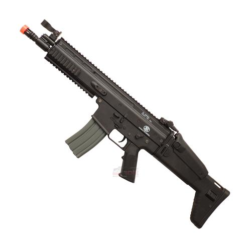 Rifle Airsoft Scar Tactical + Frontgrip (Eletrico) (Alta Qualidade) - Cal 6mm (Fn Herstal)