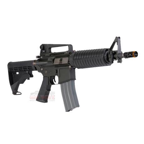 Rifle Airsoft M4A1 Colt Comando Policial Premium (Eletrico) (Full Metal) (Cano de Precisao) - Cal 6m