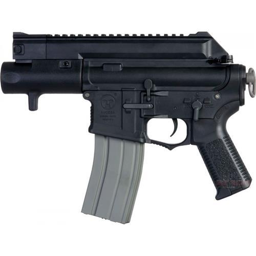 Rifle Airsoft M4CCP Tatical Amoeba Pistol Gun Black (Eletrico) - Cal 6mm (Ares)