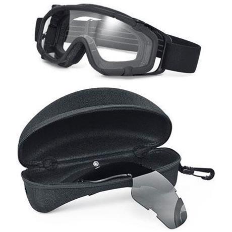 Oculos de Protecao com Ventilacao - Fma Ballistic Google D Version - Preta