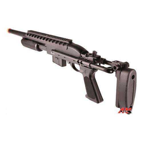 Shotgun Airsoft Tactical Pump Action (FULL METAL) M870 - Cal 6mm A&K