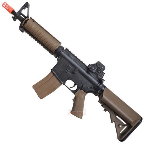 Rifle Airsoft COLT M4A1 CQB R Dualton (Eletrico) + Camiseta