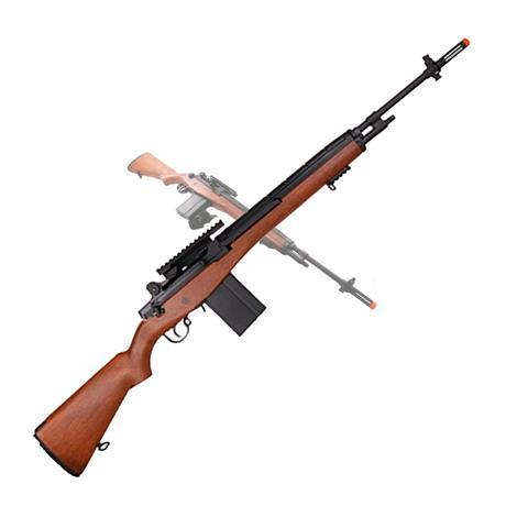Fuzil Sniper Airsoft M14 Edição Limitada (Elétrico) + Bandoleira - Cal 6mm - AGM