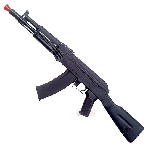 Rifle Airsoft AK105 Tactical Elétrico - Magazine 500BBS (Full Metal) 6mm - Cyma