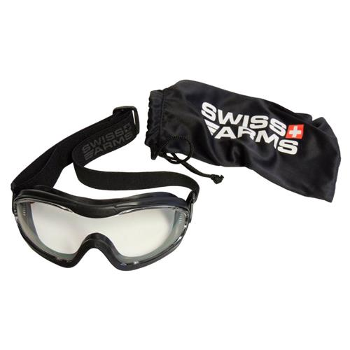 Mascara de Protecao Airsoft - Light Ops Mask Anti Fog - Swiss Arms