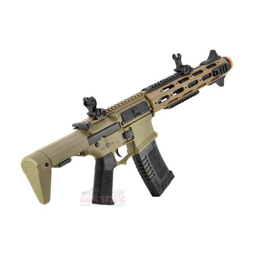 Rifle Airsoft M4A1 Amoeba Dark Earth - Efcs Electronic (Eletrico) Calibre 6mm - Ares