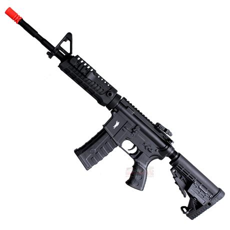 Rifle Airsoft M4A1 CAA Custom Eletrico Calibre 6mm - King Arms