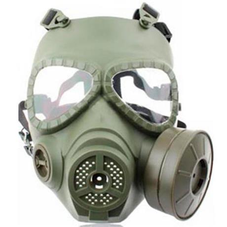 Mascara Airsoft Anti Gas (Réplica) com Ventilação - Verde Claro