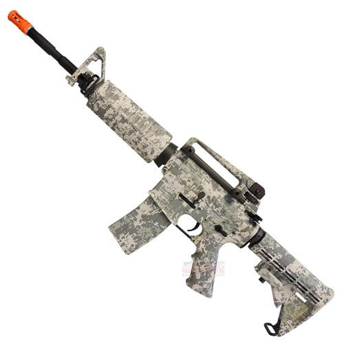 Rifle Airsoft M4A1 Navy Seals Acu Camuflado 6mm Eletrico (Full Metal) (King Arms)