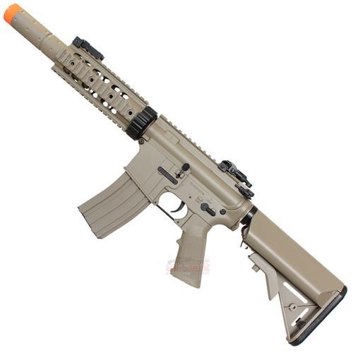 Rifle Airsoft M4A1 RIS CQB TAN Eletrico 6mm Cyma