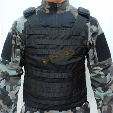 Colete Tatico Cop Modular (Preto) Tam: (P,M) - Dacs