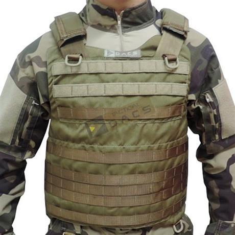Colete Tatico Cop Modular (Coyote) Tam: P,M - Dacs