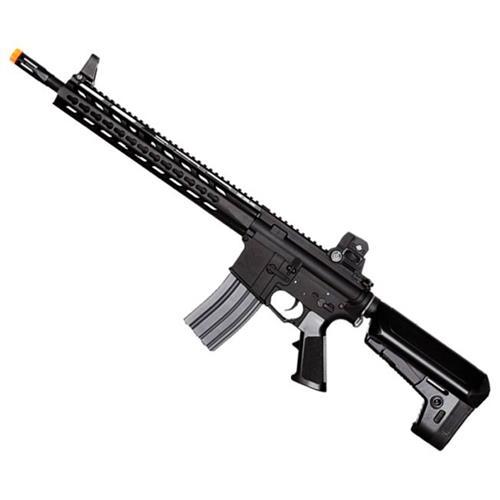 Rifle Airsoft KrItac Trident Spr - Premium (Eletrico) (Full Metal) 6mm