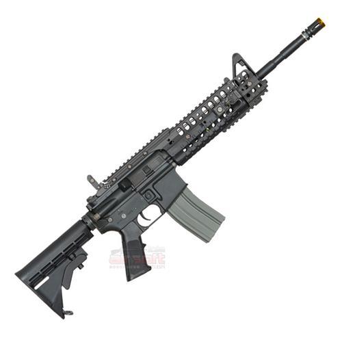 Rifle Airsoft M4A1 Sir S-System Heavy Ris - Premium (Eletrico) (Full Metal) (Cano de Precisao) - Cal