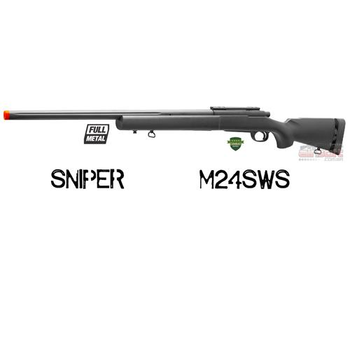 Rifle Sniper Airsoft M24 SWS FULL METAL 6mm - Cyma