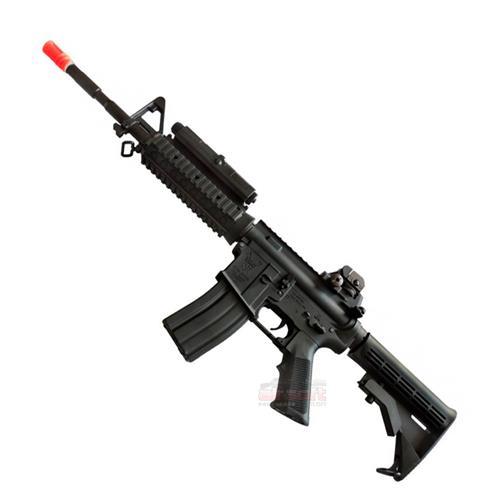 Rifle Airsoft M4 RIS Ultra Grade (Eletrico) - Cal 6mm (King Arms)